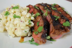 Steak and Corn