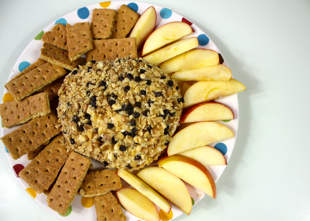 Chocolate Chip Cheese Ball | April McKinney