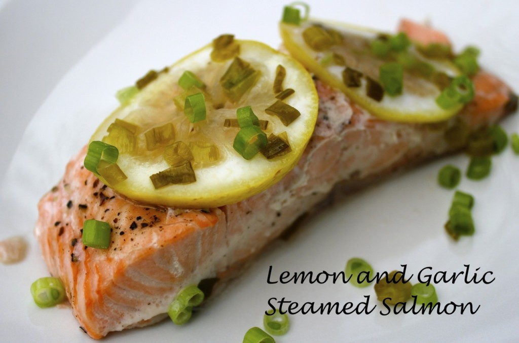 lemon steamed salmon