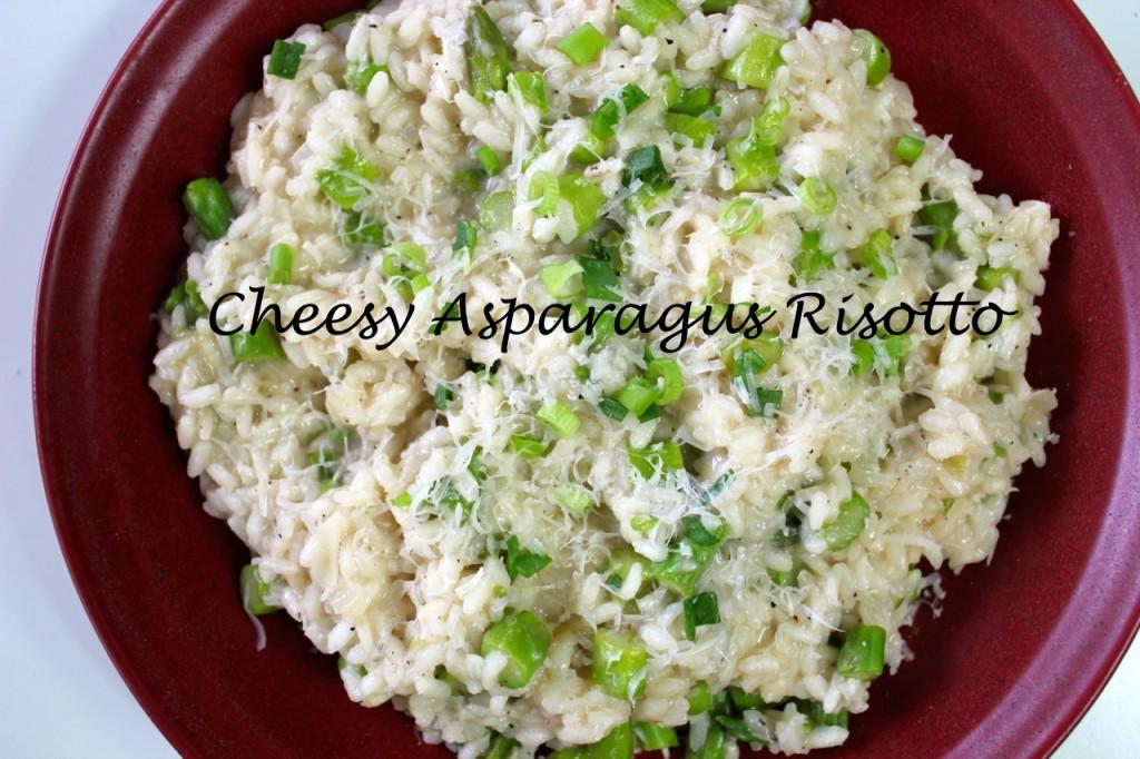 asparagus risotta