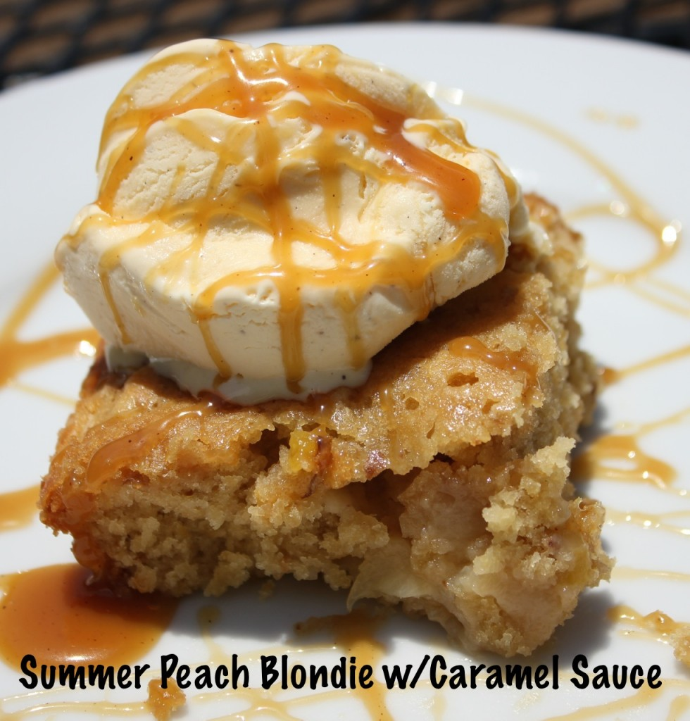 peach blondie