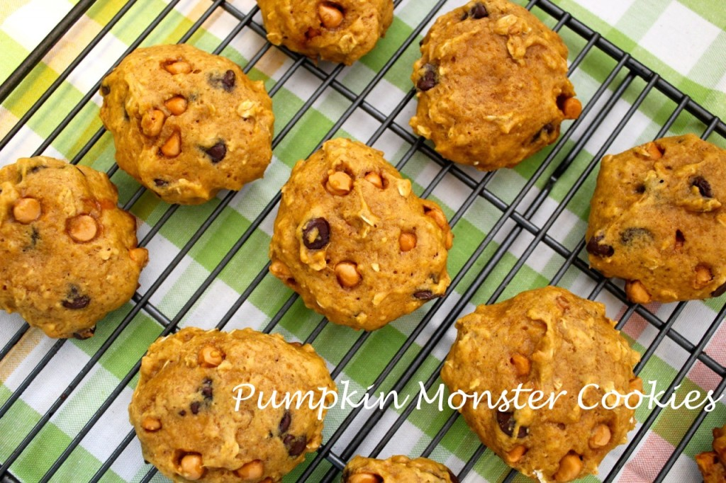 monstor pumpkin cookies