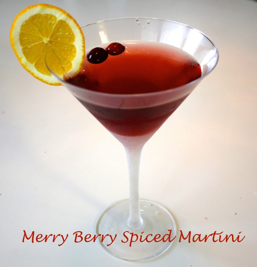Marry Berry Martini