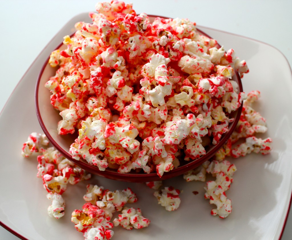 red hot popcorn