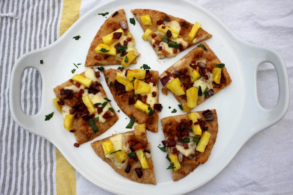 Pineapple Pancetta Flatbread