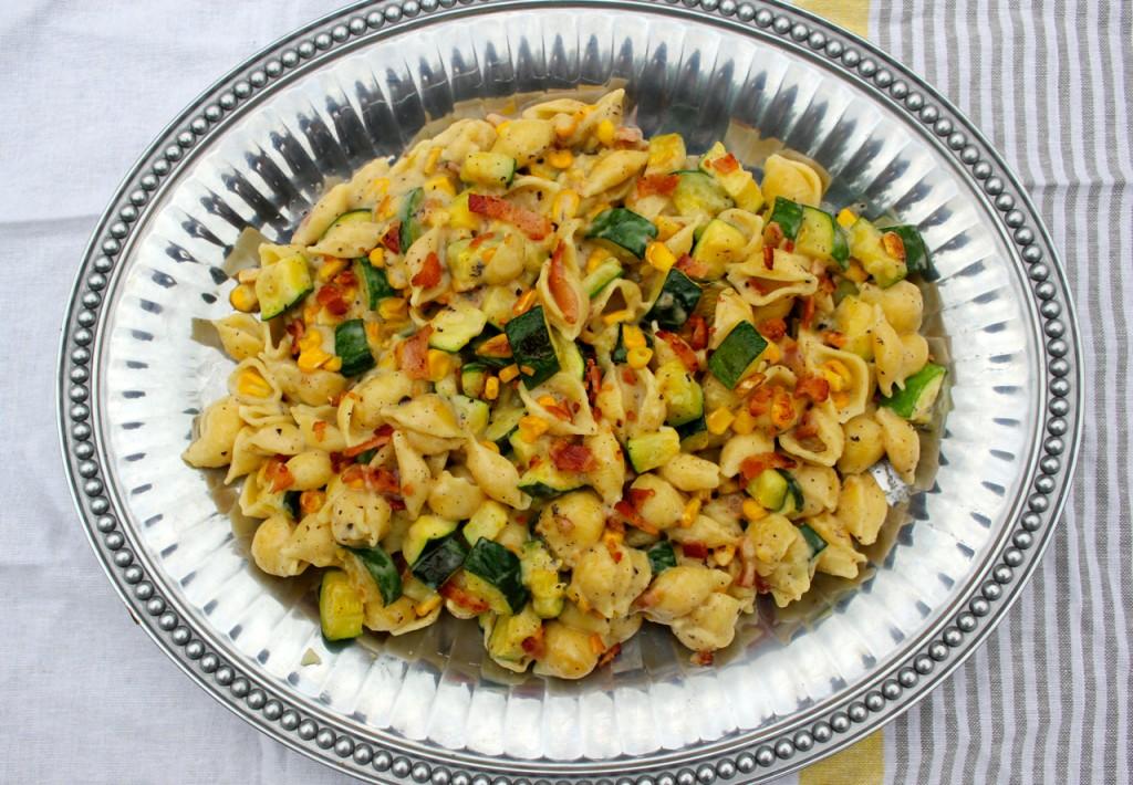 zucchini pasta shells
